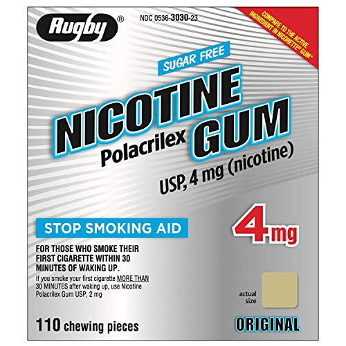 NICOTINE GUM 4 MG KIT ***RUG Size: 110