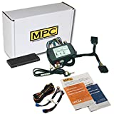 MPC Remote Start Kit w/Smartphone Control for 2007-2018 Jeep Wrangler Key-to-Start - Plug-n-Play T-Harness - Also Uses Factory Remotes - Firmware Preloaded