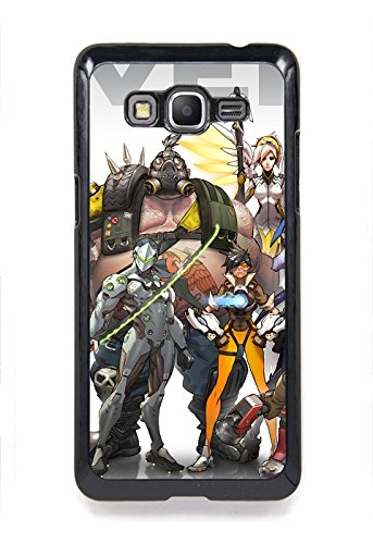 Samsung Galaxy On5 Case, Premium TPU Cover [Durable] Soft Rubber Silicone Back Cover Smooth Design Game Overwatch Case For Samsung Galaxy On5 Design By [Shella Smith]