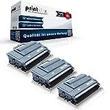 3 cartucce toner compatibili per Brother MFC-L5700 DN MFC-L5700 DNLT MFC-L5700 DW MFC-L5700 Series MFC-L5750 DW MFC-L6800 DW TN3480 TN-3480 TN 3480 nero - Color Line Serie
