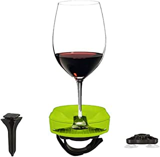 💓 Celiy💓 Outdoor Wine Glass Beer Holder to Armrest with Attachments Red Wine Glasses Base