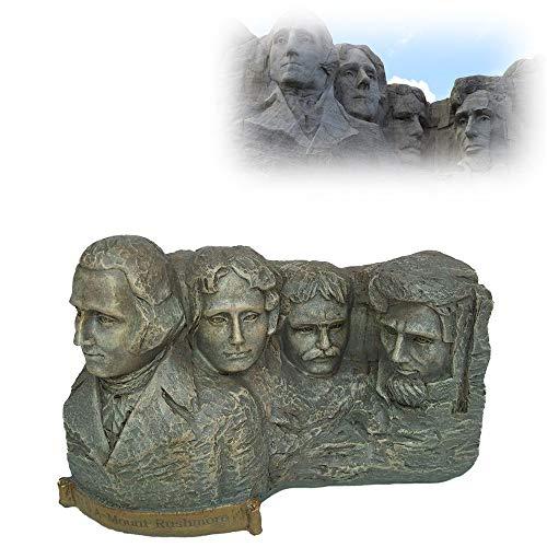 CHEIRS Gebäudemodell Dekoration,skulptur/Statue Von Us-präsident Hill,kunstharz-Souvenir Zuhause Desktop/Schreibtisch Dekor (12.8X5.5X8cm)