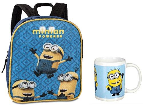 Minion 2- teiliges Rucksack Set mit Tasse in Geschenkverpackung