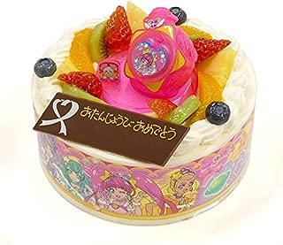 キャラデコお祝いケーキ スター☆トゥインクルプリキュア 5号 15cm 生クリームショートケーキ