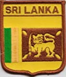 Aufnäher Patch Sri Lanka-Flagge (a230)