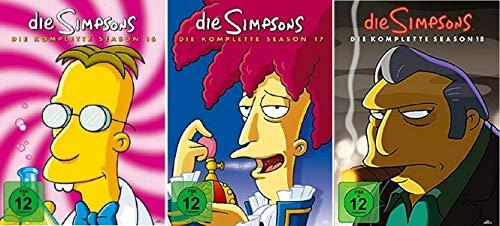 Die Simpsons Staffel 16-18 (16+17+18) [DVD Set]