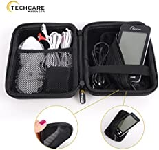 Hard Travel Case for TechCare Plus 24 Tens Unit Touch Massager Protective Shockproof Dustproof Water Resistant Light Weight Carrying Case