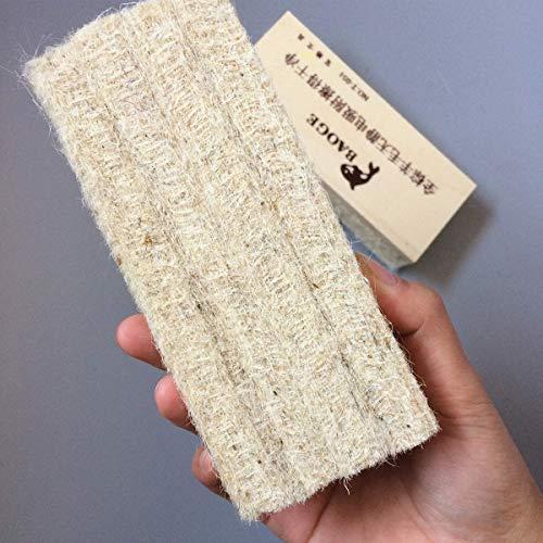 Borrador de tiza de 6 uds, Pizarra de madera, fieltro de lana, borrador sin polvo para limpieza de pizarras de borrado en seco