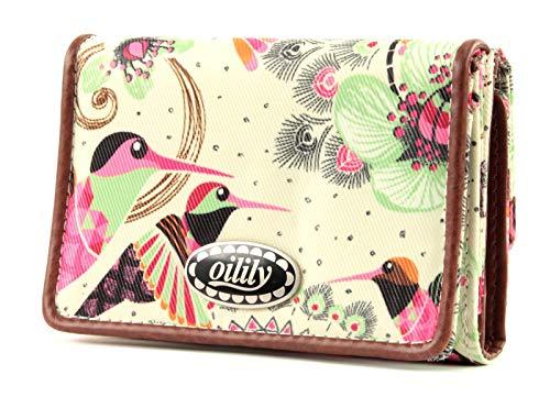 Oilily Summer Birds Flap Wallet OCB9119, Portamonete, 12,5 x 3 x 8,5