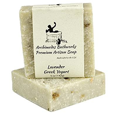 Handmade Natural Soap - Made in USA - Hand Soap - Bath Soap - Face Soap - One 4.5 oz Bar - Organic Ingredients