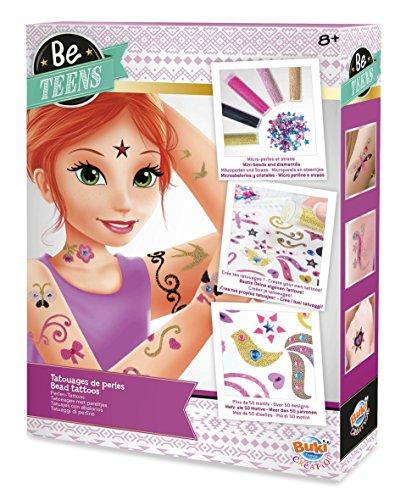 Buki France- Tatuaggi di Perline per Bambini, BE107