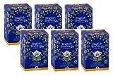 English Tea Shop Té Negro Earl Grey con Bergamota Orgánica de Comercio justo hecha en Sri Lanka - 6 x 20 Bolsitas de té (270 Gramos)