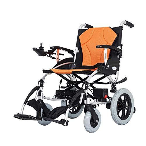 potente para casa DLY discapacitado vieja silla de ruedas eléctrica de aleación de aluminio de doble batería de litio …