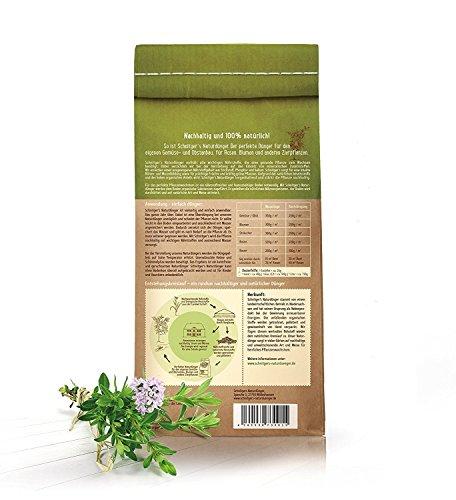 Naturdünger - Universal Pflanzendünger in Bio-Qualität - Langzeitdünger für gesunde Pflanzen und Blumen - Dünger von SCHNITGER's (10kg) - 7