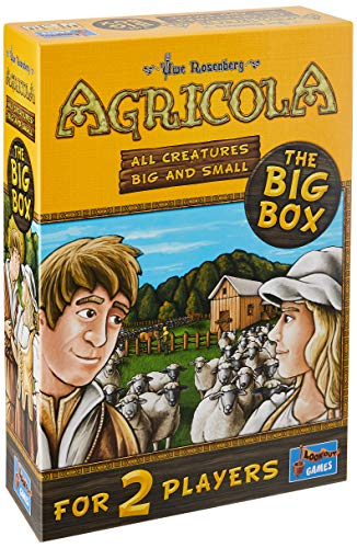 Lookout Spiele - Agricola- All Creatures Big and Small (The Big Box) - Board Game