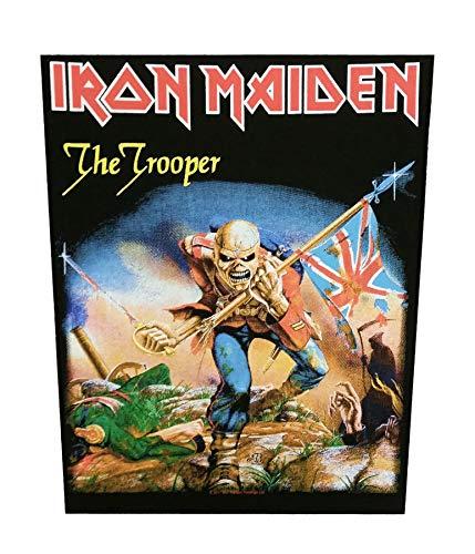 Unbekannt Iron Maiden The Trooper espalda parche