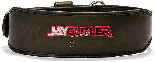 Leather Jay Cutler Signature Belt in Black Size: Medium (31
