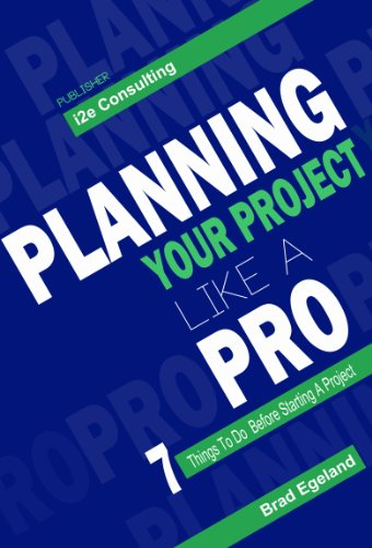 Planning your Project like a Pro: 7 things to do before starting a project (English Edition)
