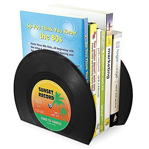 Buchstützen in Schallplattenform - 3
