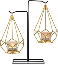 NFSWMHLE Nordic Wrought Iron Candlestick Ornaments Candlelight Dinner Candle Holders Creative Home Decoration Ornaments