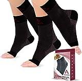 Medias de Compresión Mujer y Hombre, Clase 2 – 2 Pares de Calcetines de...