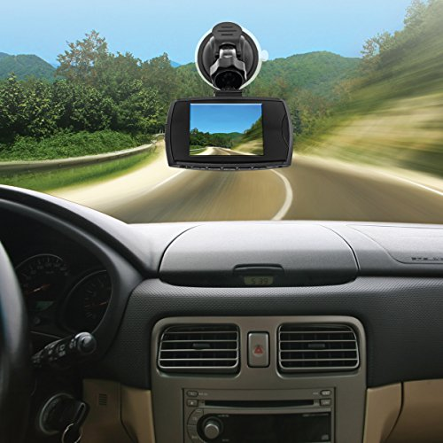 Bell & Howell Dash Cam XL - HD Digital Car Camera - 170° Wide Angle View and Super Infrared Night Vision - Full HD 1080P – Built-in Motion Sensor – 4X Digital Zoom - 8GB MicroSD Card Included
