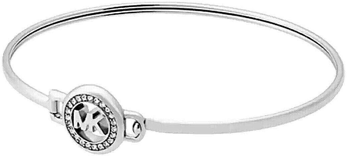 Max 71% OFF Michael Kors Mkjx6520040 trend rank Bracelet Silver-Tone Logo