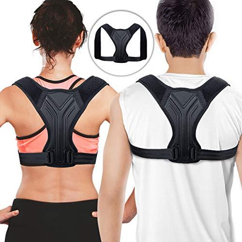 Posture Corrector for Women and Men - Back Brace - Adjustable Back...
