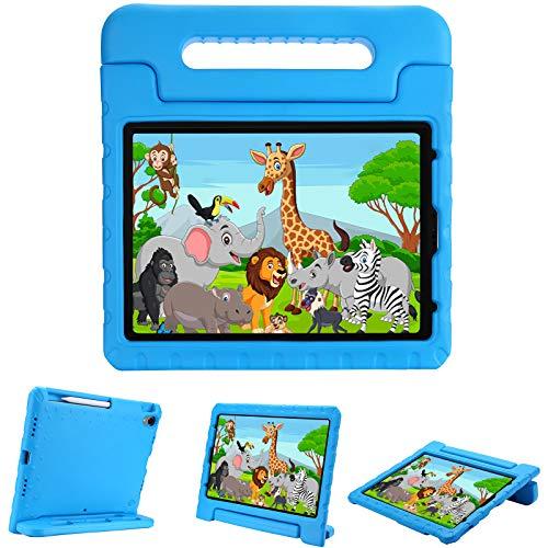ProCase Custodia Bambini per iPad Air 4 Generazione 2020/iPad Pro 11 2018, Leggera Protettiva Custodia Rigida Antiurto per Bambini con Cavalletto -Blu