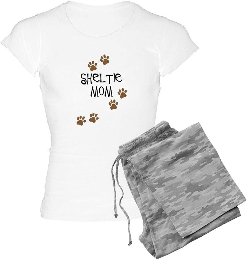 CafePress Sheltie Mom 2021 autumn and winter new Women's Light Pajamas PJs Tampa Mall
