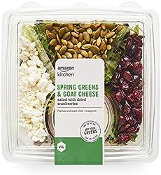 Amazon Kitchen, Spring Greens & Goat Cheese Salad, 7.5 oz