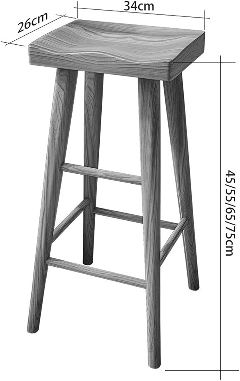 JZX Footstool, Work Bench, Beauty Stool, Shower Stool, Stool, High Stool, Real Bar Stool