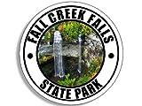 American Vinyl Round Fall Creek Falls State Park Sticker (Tennessee tn Hike rv)