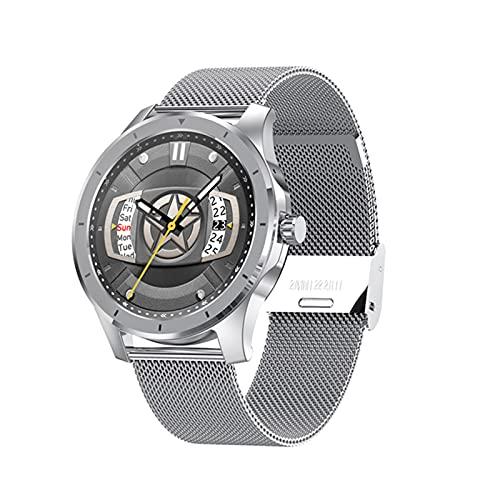 AKL MX10 Smart Watch 500 Canciones Reproductor de música Bluetooth Call Bluetooth Tarifa cardíaca Presión Arterial Monitoreo Smart Watch Android iOS,C