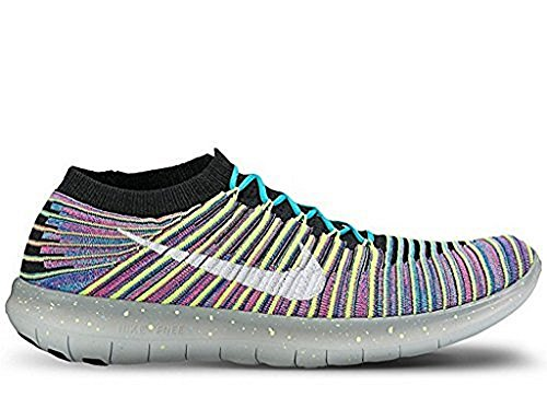 Nike Mens Free Rn Motion Flyknit Running Shoe (Multicolor, 11.5)
