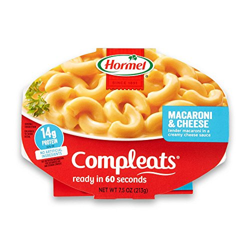 Hormel COMPLEATS Macaroni amp Cheese 75 Ounce Pack of 7