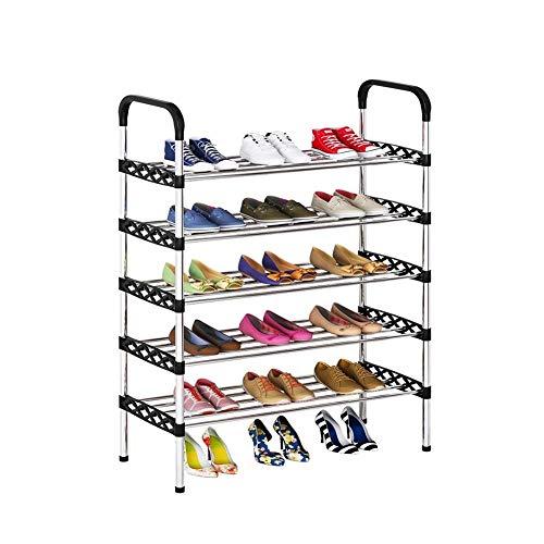 TYLJ MyBHD Simple Zapatero Multi-Capa Que Ahorra Espacio Zapatero Almacenamiento de Zapatos (Color : 4L A)