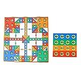 Alfombra de ajedrez volador, alfombrilla de juego y alfombra de ajedrez voladora Alfombra de ajedrez plano Área de juego Alfombrilla de salón Sala de juegos para niños(Alfombra Avión Ajedrez)