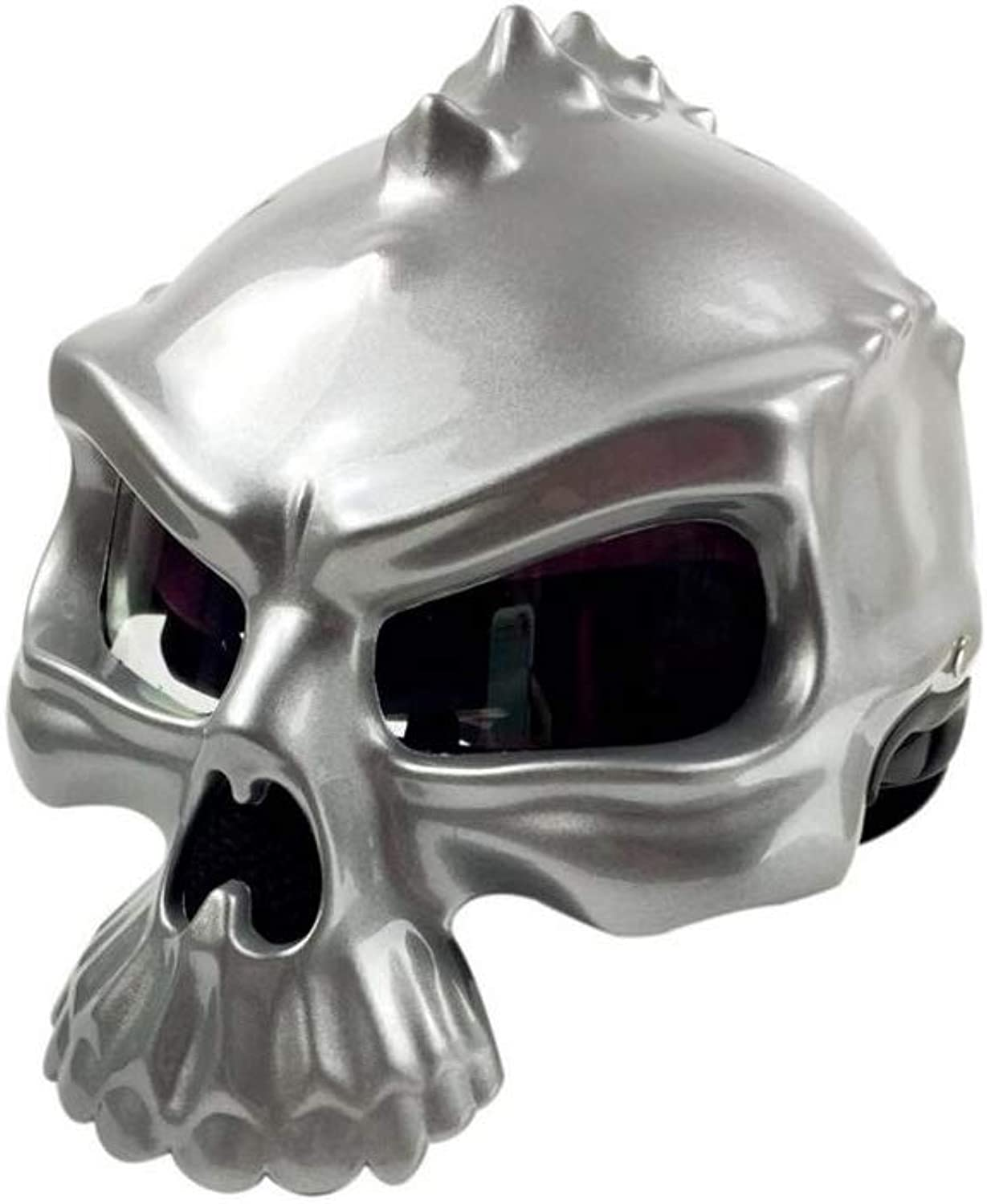 Fashion Motorcycle Motorcycle Skull Helmet Elf Half Helmet Harley Helmet Can Wear A Bubble Mirror DoubleSided Can Be Worn