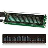 Nobsound, amplificatore per musica, indicatore a 15 livelli, VU meter, display VFD al LED