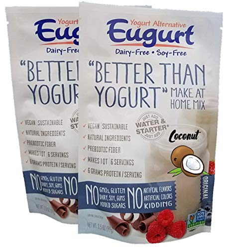 'Better Than Yogurt' Make At Home Mix (Dairy and Soy Free!) (Coconut, 2-Pack)