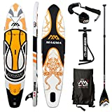 Aqua Marina Magma SUP Inflatable Stand Up Paddle Surfboard Paddelboard (Ausrüstung)