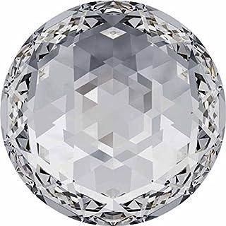 2072 Swarovski Nail Art Gems & Flatback Crystal Shapes Rose Cut   Crystal   12mm - Pack of 2   Small & Wholesale Packs