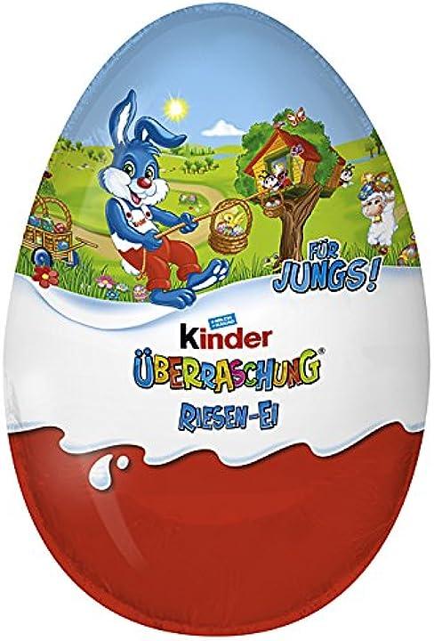 Kinder sorpresa uovo di pasqua gigante 220g B06WD4T6NF