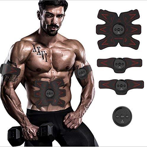 L.TSA Estimuladores eléctricos Cinturones de Masaje Estimuladores eléctricos Estimulador Muscular, tonificador Muscular...
