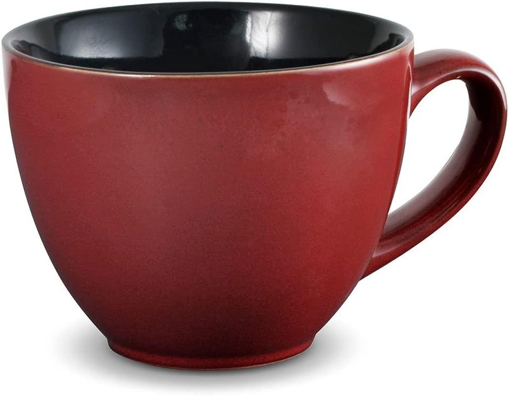 Pfaltzgraff Aria Red Jumbo Soup Mug 22 Ounce