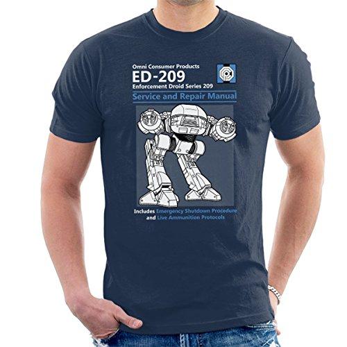 Cloud City 7 Robocop ED209 Service and Repair Manual Men's T-Shirt