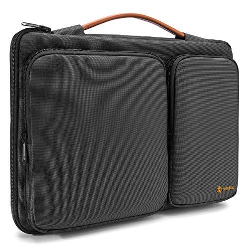 tomtoc Laptop Tasche Hülle kompatibel mit 15/15.6 Zoll HP Lenovo ThinkPad E590 / IdeaPad S510, 16 Zoll MacBook Pro Laptoptasche Aktentasche Notebook Sleeve Notebooktasche