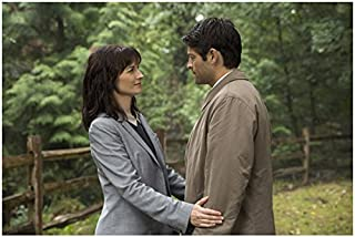 Supernatural Erica Carroll as Hannah gently holding Misha Collins as Castiel 8 x 10 Inch Photo