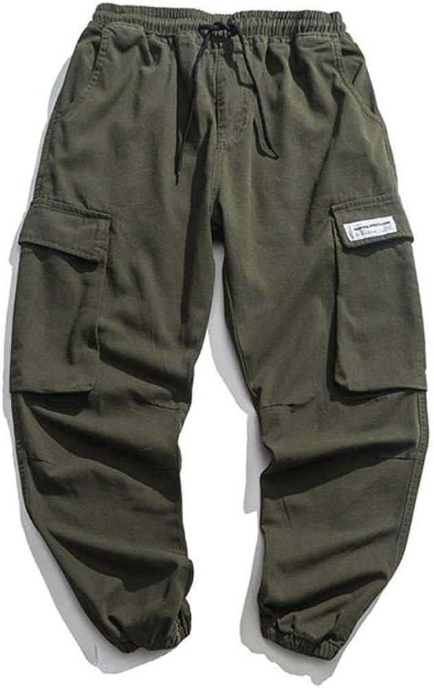 Rufun Men's New sales Max 49% OFF Jogger Pants Hip Streetwear Tactical Harem Hop